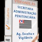 Aulas em DVDs Concurso Agente de Escolta - Penitenciária - SP