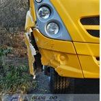 Acidente envolvendo um ônibus e um Gol que caiu da ponte na RN 093 entre Tangará e Campestre