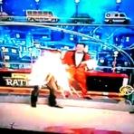 Luis Ricardo se queima no programa do ratinho