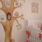 Quartos de bebê decorados e encantadores