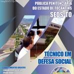 Apostila para o concurso da SEDS TO Cargo - Técnico Em Defesa Social