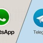 Telegram quebra o WhatsApp e atinge 50 milhões de usuários
