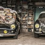 Coleção de 60 carros vintage da família vale R$ 50 milhões