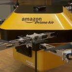 Inovação – Drones farão entregas da Amazon a partir de 2015.