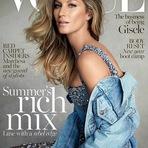 Gisele Bündchen é capa da Vogue Austrália