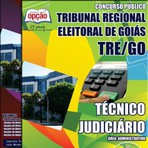 Livros - Apostila TÉCNICO JUDICIÁRIO ? ÁREA: ADMINISTRATIVA - Concurso Tribunal Regional Eleitoral / GO 2015
