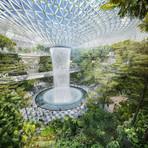 Conheça o incrível aeroporto com cachoeira gigante e trilhas naturais
