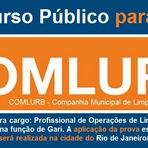 Concursos Públicos - A Companhia Municipal de Limpeza Urbana do Rio de Janeiro, abre Concurso para GARI RJ - Comlurb 2015