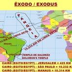 Religião - Se de Cairo,capital do Egito,a Jerusalém são apenas 425 km como Moisés e o povo de Deus passaram 40 anos para chegar lá?