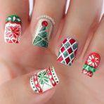 Mulher - Lindas decorações de unhas para a época do natal !!!