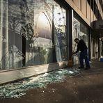 Internacional - Centro de Zurique é saqueado por mais de 200 manifestantes