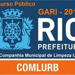 Apostila COMLURB RIO - Concurso Companhia Municipal de Limpeza Urbana do Rio de Janeiro, para Gari RJ