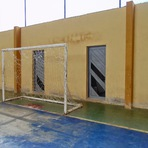 Serra da Tapuia: Ginásio de Poliesportivo do distrito após cinco anos da construção, necessita de reforma urgente