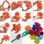 Hobbies - Aprenda a fazer  uma decoração de festas com balões!
