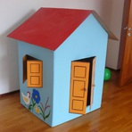 Hobbies - Brinquedos Feitos com Caixa de Papelão Reciclada