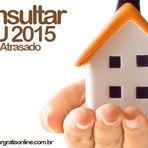 CONSULTA IPTU 2015 EM ABERTO, ATRASO