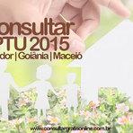 CONSULTA IPTU 2015 SALVADOR, GOIÂNIA, MACEIÓ