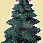 Hobbies - Arvore de Natal feita de tecido