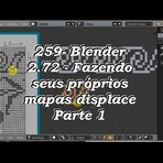 Blender 259 – versão 2.72b – Criando Displace Map 1ª parte