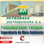 Apostila concurso petrobras distribuidora 2014 – 2015 profissional júnior formação engenheiro de meio ambiente