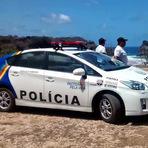 Toyota Prius híbrido vira viatura de polícia em Fernando de Noronha
