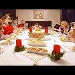 Recordação do jantar de Natal de um grupo de amigos