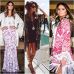Conheça a tendência dos Kimonos Cardigan! A it girl Thássia Naves aderiu!