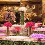 Mesas de doces para casamento, decorações perfeitas!