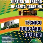 Apostila Concurso Tribunal de Justiça do Estado de Santa Catarina 2015 - TJ-SC - Técnico Judiciário Auxiliar