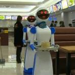 Robôs-garçons chegam ao 2o. restaurante: vídeo