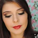 Mulher - Maquiagem Cut Crease para o Natal #tutorial