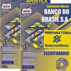Apostila Digital Banco do Brasil - ESCRITURÁRIO (Atualizada) 2015 para Carreira Administrativa Concurso público BB