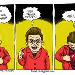 Dilma disse que toda pessoa é corrupta; veja tira sobre