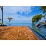 Arquitetura e decoração - EASY DECK oferece placas modulares de madeira - Rapido, Facil e maravilhoso