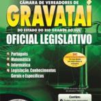 Curso e Apostila Gravataí RS - Procurador Legislativo, Contador e Oficial Legislativo