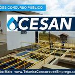 Inscrições Concurso Público Cesan Espírito Santo - Edital 2014.2015