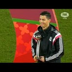 Cristiano Ronaldo ignora Platini ...