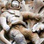 Conheça a história por trás do astronauta esculpido na Catedral de Salamanca, construída há mais de 300 anos