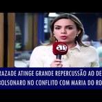 Mulher - Rachel Sheherazade atinge grande repercussão ao defender Bolsonaro no conflito com Maria do Rosário
