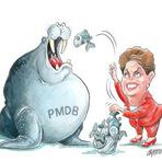 Segundo mandato da presidente Dilma Rousseff será o mais dependente do PMDB