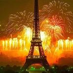 Ano Novo em Paris, França