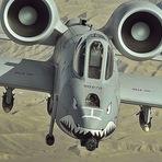 EUA pretende invadir a Coreia do Norte com A-10 Warthog!