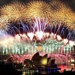 Ano Novo em Sydney, Austrália