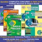 Edital do Concurso Público INSS 2015, Previsão para Março de 2015, Prepare-se com a Apostila INSS Completa 2015