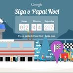 Natal 2014 nos Doodles do Google