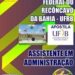 Apostila Universidade Federal do Recôncavo da Bahia (UFRB) 2014
