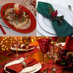 Dicas para mesa de Natal