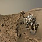 Curiosity encontra oscilações importantes de metano em Marte