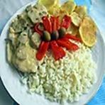 Culinária - ReceitasDouro-Bifes de Perú com natas.