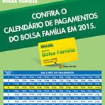 Tabela de Pagamento Bolsa Família 2015
